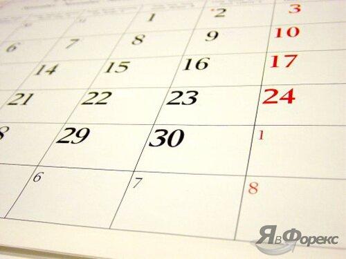 календарь событий рынка форекс