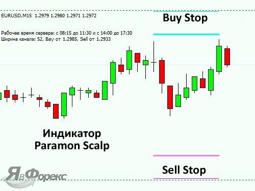 торговля по Paramon Scalp